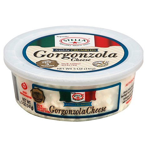 Stella Cheese Gorgonzola Freshly Crumbled - 5 Oz