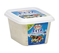 President Crumbled Feta Cheese - 6 Oz.