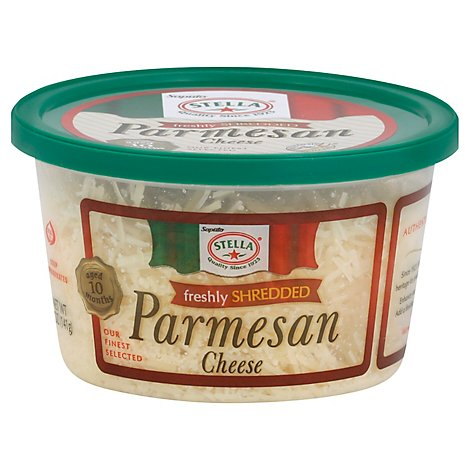 Stella Cheese Parmesan Freshly Shredded - 5 Oz