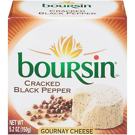 Boursin Cracked Pepper Gournay Cheese - 5.2 Oz.