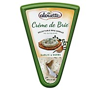 Alouette Cheese Creme De Brie Spread Garlic & Herbs - 5 Oz