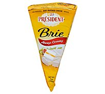 President Brie Wedge Cheese - 7 Oz.