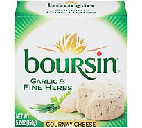 Boursin Garlic & Fine Herbs Gournay Cheese - 5.2 Oz.