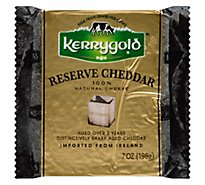 Kerrygold Cheese Reserve Cheddar Deli Vacuum Pack - 7 Oz