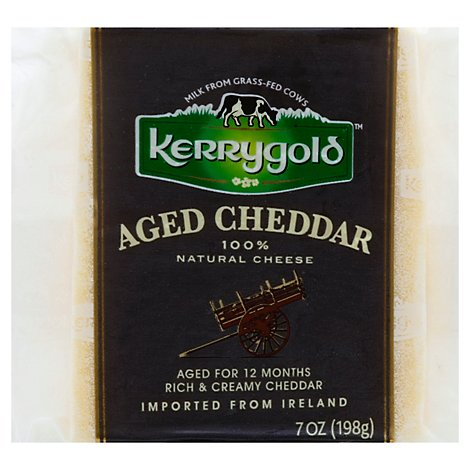 Kerrygold Natural Cheese Aged Cheddar - 7 Oz