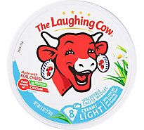 The Laughing Cow Creamy Light Swiss Cheese Spread - 6 oz