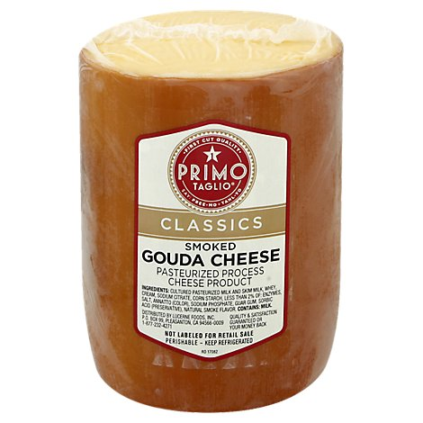 Deli Counter Smoked Gouda Cheese Deli - 0.50 Lb