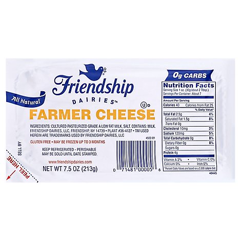 Friendship Cheese Farmers - 7.5 Oz
