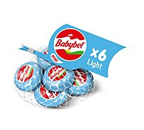 Mini Babybel Light Snack Cheese 6 Pack - 4.5 Oz.