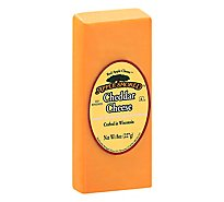 Red Apple Cheese Apple Smoked Cheddar - 8 Oz