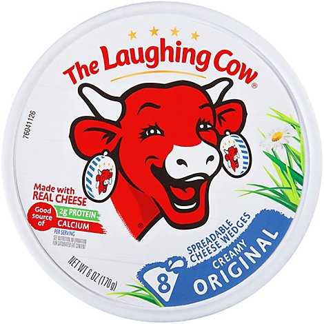 The Laughing Cow Creamy Original Swiss Cheese Spread - 6 Oz.
