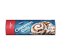 Pillsbury Cinnamon Rolls With Icing 8 Count - 12.4 Oz