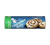 Pillsbury Cinnamon Rolls Cinnabon Reduced Fat 8 Count - 12.4 Count