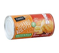 Signature SELECT Biscuits Buttermilk Jumbo 8 Count - 16 Oz