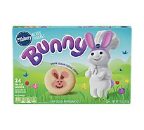 Pillsbury Ready To Bake! Shape Sugar Cookies Pre-Cut Bunny 24 Count - 11 Oz