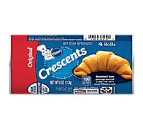 Pillsbury Crescent Dinner Rolls Original 4 Count - 4 Oz