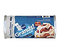 Pillsbury Grands! Cinnamon Rolls Big With Cream Cheese Icing 5 Count - 17.5 Oz
