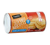 Signature SELECT Biscuits Flaky Buttermilk Jumbos! 8 Count - 16 Oz