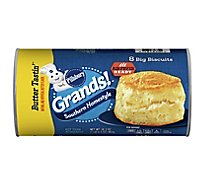 Pillsbury Grands! Biscuits Southern Homestyle Butter Tastin Butter Flavor 8 Count - 16.3 Oz
