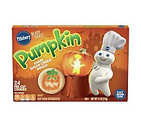 Pillsbury Ready To Bake! Shape Sugar Cookies Pre-Cut Pumpkin 24 Count - 11 Oz