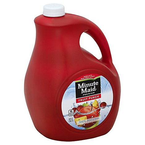 Minute Maid Premium Fruit Punch - 128 Fl. Oz.