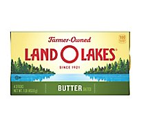 Land O Lakes Butter Stick Salted 4 Count - 1 Lb