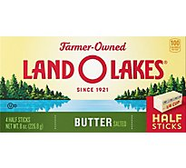 Land O Lakes Butter Sweet Cream Salted Half Sticks - 4 Count