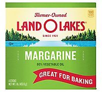Land O Lakes Margarine Sticks 4 Count - 1 Lb