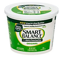 Smart Balance Imitation Butter Dairy Free Original - 45 Oz
