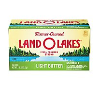 Land O Lakes Butter Light Sweet Cream Salted Sticks - 4 Count