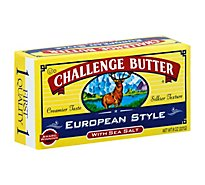 Challenge Butter European Style with Sea Salt - 8 Oz