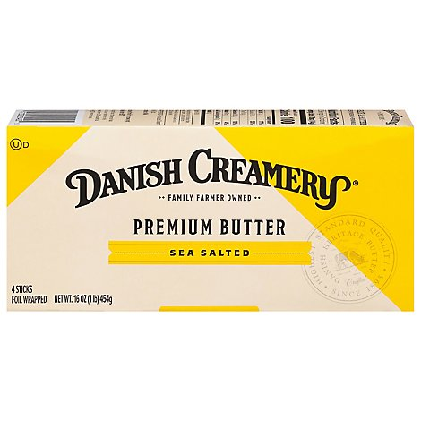Danish Creamery Butter - 16 Oz