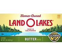 Land O Lakes Butter Salted Sweet Cream Four Sticks - 1 Lb