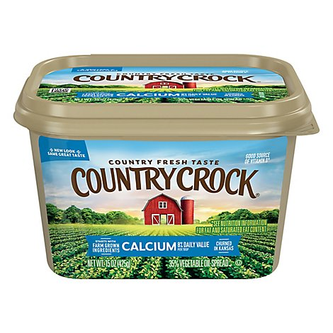Country Crock Shedds Spread Buttery Spread 32% Vegetable Oil Calcium with Vitamin D - 15 Oz