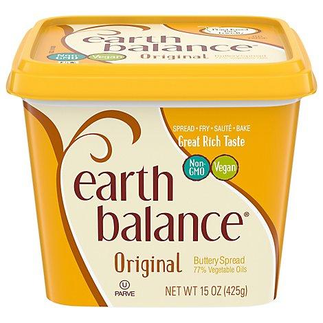 Earth Balance Buttery Spread 78 Vegetable Oil Original 15 Oz Jewel Osco