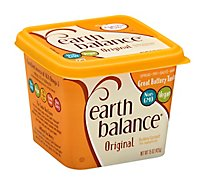 Earth Balance Buttery Spread 78% Vegetable Oil Original - 15 Oz