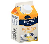 Lucerne Liquid Eggs - 16 Oz