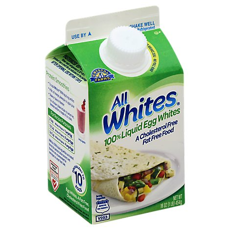 All Whites Egg Whites 100% Liquid - 16 Oz