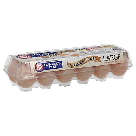 Egglands Best Eggs Cage Free Large Brown  - 12 Count