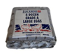 Lucerne Eggs Large Grade AA  - 60 Count
