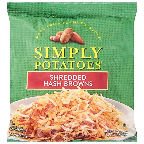 Simply Potatoes Shredded Hash Browns  - 20 Oz