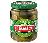 Claussen Kosher Dill Mini - 20 Fl. Oz.