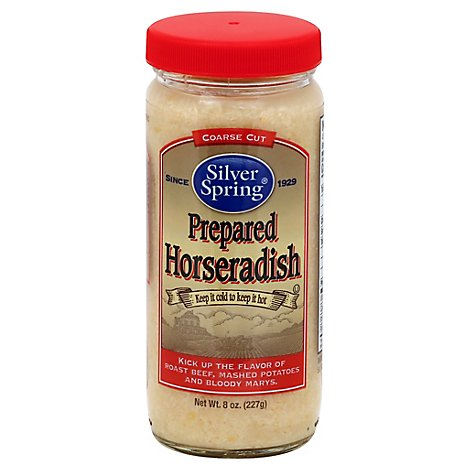 Silver Spring Horseradish Prepared Extra Good N Hot - 8 Oz