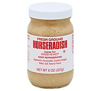 Silver Spring Horseradish Fresh Ground Good N Hot Coarse Cut - 8 Oz