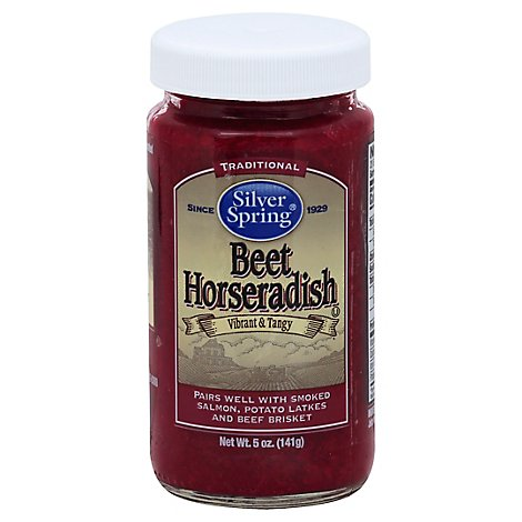 Silver Spring Horseradish Prepared With Beets - 5 Oz
