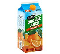 Signature SELECT/Farms Juice 100% Pure Orange From Concentrate - 64 Fl. Oz.