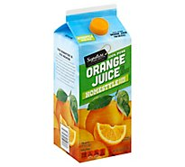 Signature SELECT Juice 100% Pure Orange Some Pulp Chilled - 64 Fl. Oz.