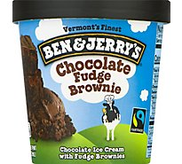 Ben & Jerrys Ice Cream Chocolate Fudge Brownie - 1 Pint