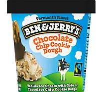 Ben & Jerrys Ice Cream Chocolate Chip Cookie Dough - 1 Pint