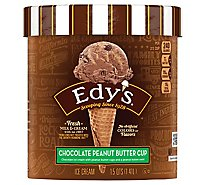 Dreyers Edys Ice Cream Grand Chocolate Peanut Butter Cup - 1.5 Quart